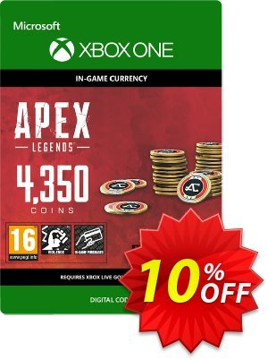Apex Legends 4350 Coins Xbox One discount coupon Apex Legends 4350 Coins Xbox One Deal - Apex Legends 4350 Coins Xbox One Exclusive offer for iVoicesoft