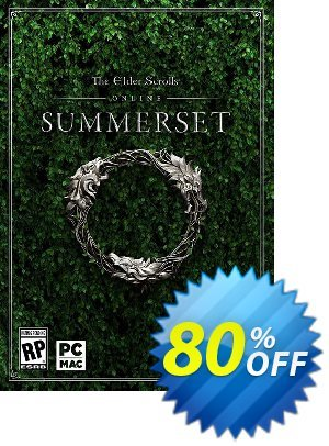 The Elder Scrolls Online Summerset PC discount coupon The Elder Scrolls Online Summerset PC Deal - The Elder Scrolls Online Summerset PC Exclusive offer for iVoicesoft
