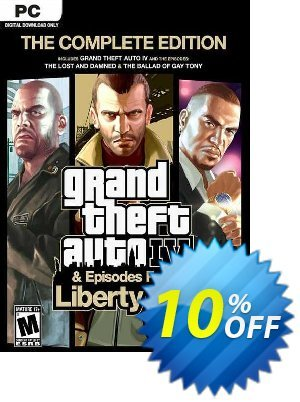 Grand Theft Auto IV 4: Complete Edition PC 프로모션 코드 Grand Theft Auto IV 4: Complete Edition PC Deal 프로모션: Grand Theft Auto IV 4: Complete Edition PC Exclusive offer for iVoicesoft