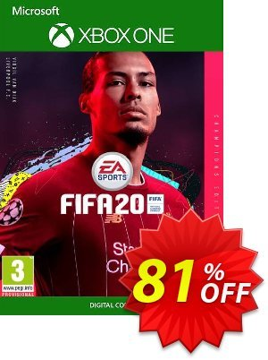 FIFA 20: Champions Edition Xbox One Coupon discount FIFA 20: Champions Edition Xbox One Deal - FIFA 20: Champions Edition Xbox One Exclusive offer for iVoicesoft
