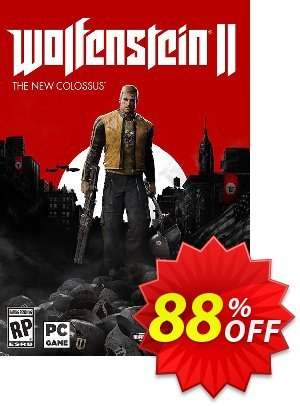 Wolfenstein II 2: The New Colossus PC割引コード・Wolfenstein II 2: The New Colossus PC Deal キャンペーン:Wolfenstein II 2: The New Colossus PC Exclusive offer for iVoicesoft