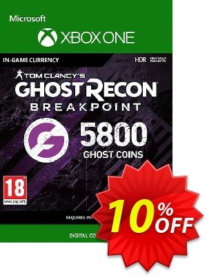 Ghost Recon Breakpoint: 5800 Ghost Coins Xbox One discount coupon Ghost Recon Breakpoint: 5800 Ghost Coins Xbox One Deal - Ghost Recon Breakpoint: 5800 Ghost Coins Xbox One Exclusive offer for iVoicesoft