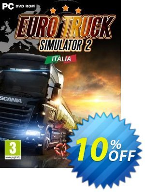 Euro Truck Simulator 2 PC Italia DLC 優惠券,折扣碼 Euro Truck Simulator 2 PC Italia DLC Deal,促銷代碼: Euro Truck Simulator 2 PC Italia DLC Exclusive offer for iVoicesoft