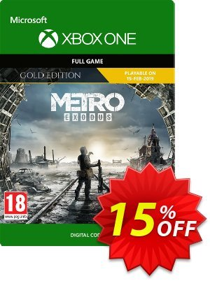 Metro Exodus Gold Xbox One discount coupon Metro Exodus Gold Xbox One Deal - Metro Exodus Gold Xbox One Exclusive offer for iVoicesoft