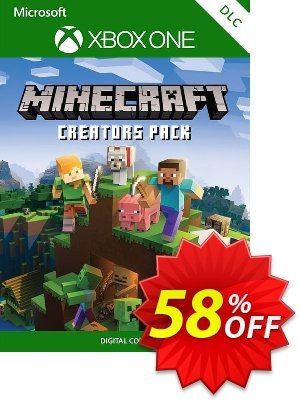 Minecraft Creators Pack Xbox One discount coupon Minecraft Creators Pack Xbox One Deal - Minecraft Creators Pack Xbox One Exclusive offer for iVoicesoft