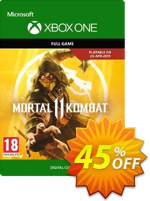 Mortal Kombat 11 Xbox One Coupon, discount Mortal Kombat 11 Xbox One Deal. Promotion: Mortal Kombat 11 Xbox One Exclusive offer for iVoicesoft