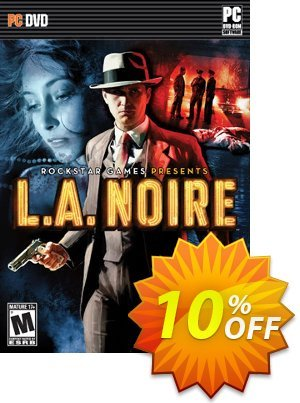 L.A. Noire Complete Edition PC Coupon, discount L.A. Noire Complete Edition PC Deal. Promotion: L.A. Noire Complete Edition PC Exclusive offer for iVoicesoft