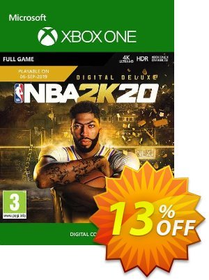 NBA 2K20: Deluxe Edition Xbox One割引コード・NBA 2K20: Deluxe Edition Xbox One Deal キャンペーン:NBA 2K20: Deluxe Edition Xbox One Exclusive offer for iVoicesoft