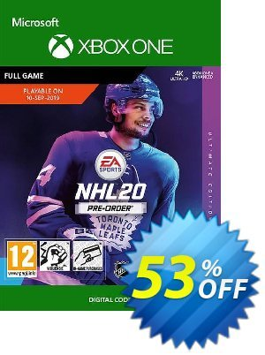 NHL 20: Ultimate Edition Xbox One discount coupon NHL 20: Ultimate Edition Xbox One Deal - NHL 20: Ultimate Edition Xbox One Exclusive offer for iVoicesoft