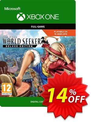 One Piece World Seeker Deluxe Edition Xbox One discount coupon One Piece World Seeker Deluxe Edition Xbox One Deal - One Piece World Seeker Deluxe Edition Xbox One Exclusive offer for iVoicesoft
