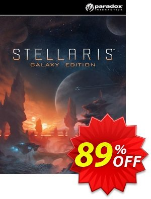 Stellaris Galaxy Edition PC Coupon, discount Stellaris Galaxy Edition PC Deal. Promotion: Stellaris Galaxy Edition PC Exclusive offer for iVoicesoft