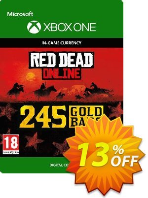 Red Dead Online: 245 Gold Bars Xbox One discount coupon Red Dead Online: 245 Gold Bars Xbox One Deal - Red Dead Online: 245 Gold Bars Xbox One Exclusive offer for iVoicesoft