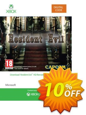 Resident Evil HD Xbox One discount coupon Resident Evil HD Xbox One Deal - Resident Evil HD Xbox One Exclusive offer for iVoicesoft
