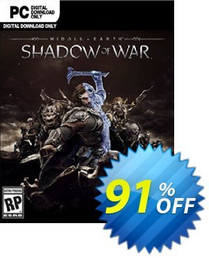 Middle-earth: Shadow of War PC 프로모션 코드 Middle-earth: Shadow of War PC Deal 프로모션: Middle-earth: Shadow of War PC Exclusive offer for iVoicesoft