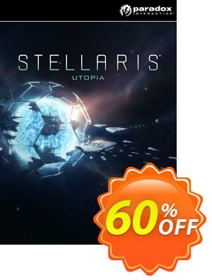 Stellaris: Utopia PC DLC Coupon, discount Stellaris: Utopia PC DLC Deal. Promotion: Stellaris: Utopia PC DLC Exclusive offer for iVoicesoft