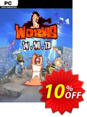 Worms W.M.D. PC Coupon, discount Worms W.M.D. PC Deal. Promotion: Worms W.M.D. PC Exclusive offer for iVoicesoft