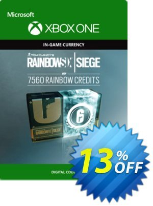Tom Clancy's Rainbow Six Siege 7560 Credits Pack Xbox One Coupon discount Tom Clancy's Rainbow Six Siege 7560 Credits Pack Xbox One Deal. Promotion: Tom Clancy's Rainbow Six Siege 7560 Credits Pack Xbox One Exclusive offer for iVoicesoft