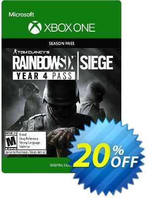 Tom Clancys Rainbow Six Siege - Year 4 Pass Xbox One discount coupon Tom Clancys Rainbow Six Siege - Year 4 Pass Xbox One Deal - Tom Clancys Rainbow Six Siege - Year 4 Pass Xbox One Exclusive offer for iVoicesoft