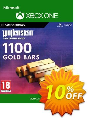 Wolfenstein: Youngblood - 1100 Gold Bars Xbox One discount coupon Wolfenstein: Youngblood - 1100 Gold Bars Xbox One Deal - Wolfenstein: Youngblood - 1100 Gold Bars Xbox One Exclusive offer for iVoicesoft