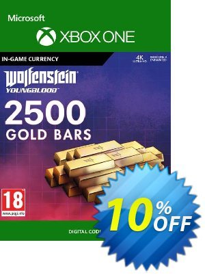 Wolfenstein: Youngblood - 2500 Gold Bars Xbox One discount coupon Wolfenstein: Youngblood - 2500 Gold Bars Xbox One Deal - Wolfenstein: Youngblood - 2500 Gold Bars Xbox One Exclusive offer for iVoicesoft