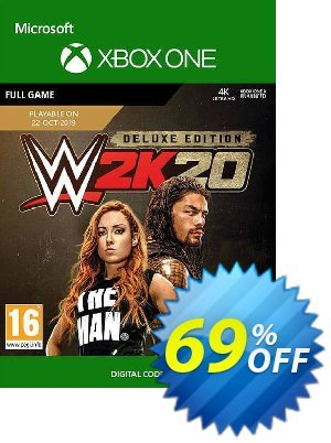 WWE 2K20: Deluxe Edition Xbox One discount coupon WWE 2K20: Deluxe Edition Xbox One Deal - WWE 2K20: Deluxe Edition Xbox One Exclusive offer for iVoicesoft
