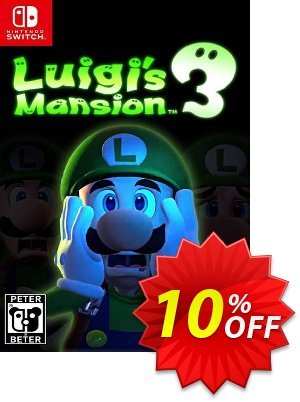 Luigi's Mansion 3 Switch Coupon, discount Luigi's Mansion 3 Switch Deal. Promotion: Luigi's Mansion 3 Switch Exclusive offer for iVoicesoft