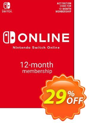 Nintendo Switch Online 12 Month (365 Day) Membership Switch discount coupon Nintendo Switch Online 12 Month (365 Day) Membership Switch Deal - Nintendo Switch Online 12 Month (365 Day) Membership Switch Exclusive offer for iVoicesoft