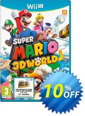 Super Mario 3D World Nintendo Wii U - Game Code discount coupon Super Mario 3D World Nintendo Wii U - Game Code Deal - Super Mario 3D World Nintendo Wii U - Game Code Exclusive offer for iVoicesoft