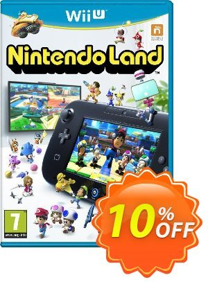 Nintendo Land Wii U - Game Code Coupon, discount Nintendo Land Wii U - Game Code Deal. Promotion: Nintendo Land Wii U - Game Code Exclusive offer for iVoicesoft