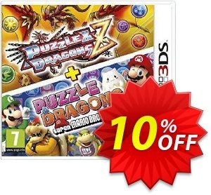 Puzzle and Dragons Z + Puzzle and Dragons Super Mario Bros. Edition Nintendo 3DS/2DS - Game Code Coupon discount Puzzle and Dragons Z + Puzzle and Dragons Super Mario Bros. Edition Nintendo 3DS/2DS - Game Code Deal. Promotion: Puzzle and Dragons Z + Puzzle and Dragons Super Mario Bros. Edition Nintendo 3DS/2DS - Game Code Exclusive offer for iVoicesoft