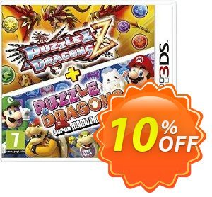 Puzzle and Dragons Z + Puzzle and Dragons Super Mario Bros. Edition Nintendo 3DS/2DS - Game Code discount coupon Puzzle and Dragons Z + Puzzle and Dragons Super Mario Bros. Edition Nintendo 3DS/2DS - Game Code Deal - Puzzle and Dragons Z + Puzzle and Dragons Super Mario Bros. Edition Nintendo 3DS/2DS - Game Code Exclusive offer for iVoicesoft