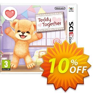 Teddy Together 3DS - Game Code Coupon, discount Teddy Together 3DS - Game Code Deal. Promotion: Teddy Together 3DS - Game Code Exclusive offer for iVoicesoft