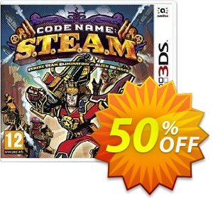 Code Name: S.T.E.A.M. 3DS - Game Code Coupon, discount Code Name: S.T.E.A.M. 3DS - Game Code Deal. Promotion: Code Name: S.T.E.A.M. 3DS - Game Code Exclusive offer for iVoicesoft