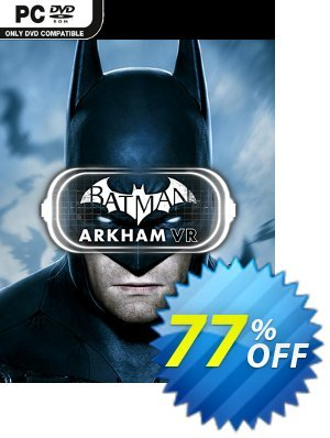 Batman: Arkham VR PC Coupon, discount Batman: Arkham VR PC Deal. Promotion: Batman: Arkham VR PC Exclusive offer for iVoicesoft