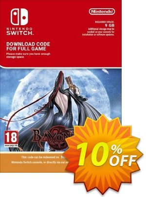 Bayonetta Switch 프로모션 코드 Bayonetta Switch Deal 프로모션: Bayonetta Switch Exclusive offer for iVoicesoft