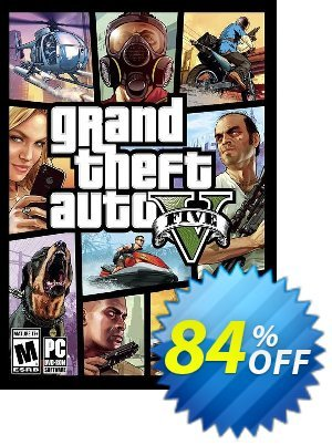 Grand Theft Auto V 5 (GTA 5) PC Coupon, discount Grand Theft Auto V 5 (GTA 5) PC Deal. Promotion: Grand Theft Auto V 5 (GTA 5) PC Exclusive offer for iVoicesoft