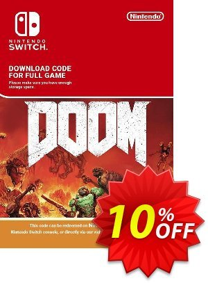 Doom Nintendo Switch Coupon, discount Doom Nintendo Switch Deal. Promotion: Doom Nintendo Switch Exclusive offer for iVoicesoft
