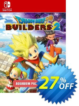 Dragon Quest Builders 2 - Aquarium Pack Switch Coupon, discount Dragon Quest Builders 2 - Aquarium Pack Switch Deal. Promotion: Dragon Quest Builders 2 - Aquarium Pack Switch Exclusive offer for iVoicesoft