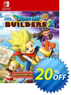 Dragon Quest Builders 2 - Hotto Stuff Pack Switch 프로모션 코드 Dragon Quest Builders 2 - Hotto Stuff Pack Switch Deal 프로모션: Dragon Quest Builders 2 - Hotto Stuff Pack Switch Exclusive offer for iVoicesoft