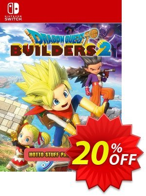Dragon Quest Builders 2 - Hotto Stuff Pack Switch Coupon discount Dragon Quest Builders 2 - Hotto Stuff Pack Switch Deal. Promotion: Dragon Quest Builders 2 - Hotto Stuff Pack Switch Exclusive offer for iVoicesoft