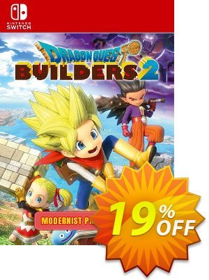 Dragon Quest Builders 2 - Modernist Pack Switch 優惠券,折扣碼 Dragon Quest Builders 2 - Modernist Pack Switch Deal,促銷代碼: Dragon Quest Builders 2 - Modernist Pack Switch Exclusive offer for iVoicesoft