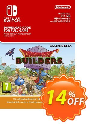 Dragon Quest Builders Switch discount coupon Dragon Quest Builders Switch Deal - Dragon Quest Builders Switch Exclusive offer for iVoicesoft