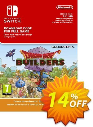 Dragon Quest Builders Switch Coupon, discount Dragon Quest Builders Switch Deal. Promotion: Dragon Quest Builders Switch Exclusive offer for iVoicesoft