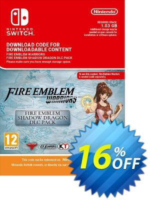 Fire Emblem Warriors Shadow Dragon Pack DLC Switch discount coupon Fire Emblem Warriors Shadow Dragon Pack DLC Switch Deal - Fire Emblem Warriors Shadow Dragon Pack DLC Switch Exclusive offer for iVoicesoft