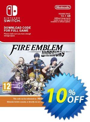 Fire Emblem Warriors Switch discount coupon Fire Emblem Warriors Switch Deal - Fire Emblem Warriors Switch Exclusive offer for iVoicesoft