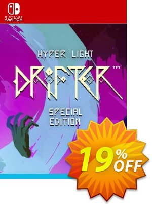 Hyper Light Drifter Switch Coupon discount Hyper Light Drifter Switch Deal. Promotion: Hyper Light Drifter Switch Exclusive offer for iVoicesoft