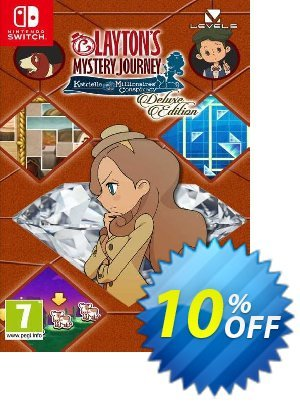 Layton's Mystery Journey: Katrielle and the Millionaires' Conspiracy - Deluxe Edition Switch (EU) discount coupon Layton's Mystery Journey: Katrielle and the Millionaires' Conspiracy - Deluxe Edition Switch (EU) Deal - Layton's Mystery Journey: Katrielle and the Millionaires' Conspiracy - Deluxe Edition Switch (EU) Exclusive offer for iVoicesoft
