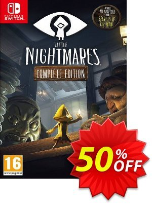 Little Nightmares: Complete Edition Switch Coupon, discount Little Nightmares: Complete Edition Switch Deal. Promotion: Little Nightmares: Complete Edition Switch Exclusive offer for iVoicesoft