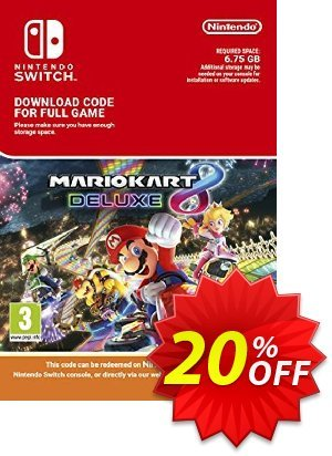 Mario Kart 8 Deluxe Switch discount coupon Mario Kart 8 Deluxe Switch Deal - Mario Kart 8 Deluxe Switch Exclusive offer for iVoicesoft