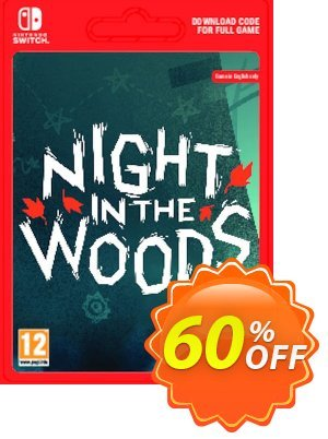 Night in the Woods Switch discount coupon Night in the Woods Switch Deal - Night in the Woods Switch Exclusive offer for iVoicesoft